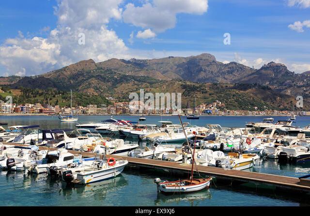 Giardini Naxos Sicily Stock Photos & Giardini Naxos Sicily ...