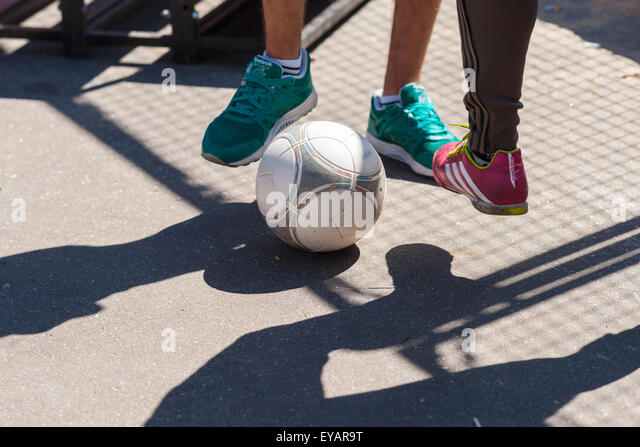 Moscow, Russia. 25th July, 2015. Moscow City Games 2015 sports festival took place at the Olympic Sport Complex - Stock-Bilder