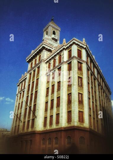 The Bacardi building Havana Cuba - Stock Image