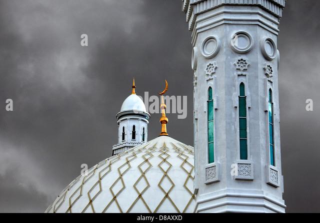 mosque prayer central asia stock photos mosque prayer