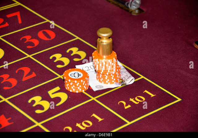 Roullette stock photos roullette stock images alamy for How to win money at fish tables