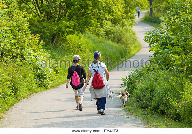 walking-the-dog-on-the-waterfront-trail-