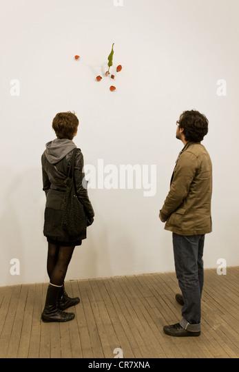 Canada, Quebec, Montreal, building the Belgo exhibition by Yoshihiro Suda - Stock Image
