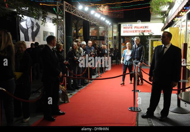 Film premiere of 'Three Quarter Moon' in Munich, 2011 - Stock Image