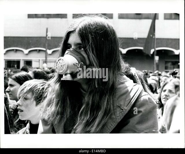 Apr. 05, 2012 - Earth Day-New York April 22, 1970 - Stock Image