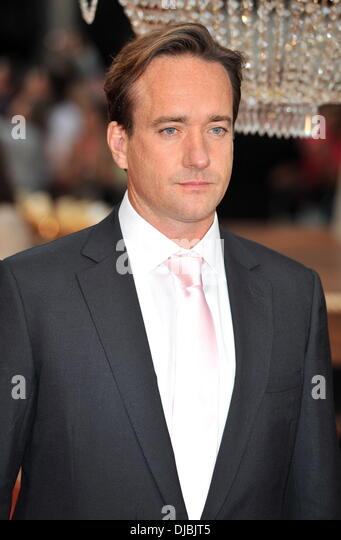 Matthew Macfadyen The World Premiere of Anna Karenina held at the Odeon Leicester Square - Arrivals. London, England - Stock Image