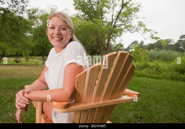 Lawnchair Stock Photos Amp Lawnchair Stock Images Alamy
