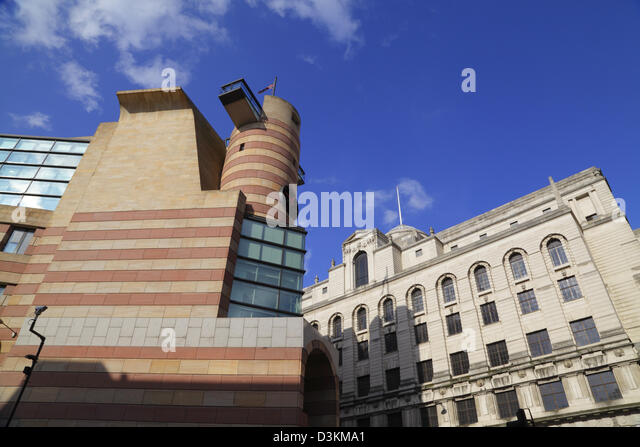 City architecture, One Poultry building, City of  London, England, UK, GB - Stock Image