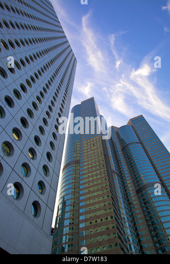 Central Business District, Hong Kong, China - Stock Image