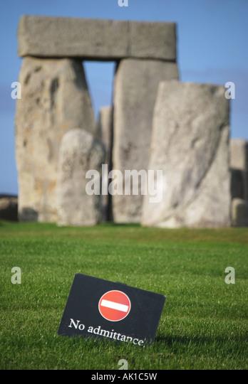 Stonehenge, Salisbury Plain, Wiltshire, England, United Kingdom - Stock-Bilder