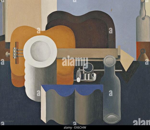 Le Corbusier  Still Life - Stock Image