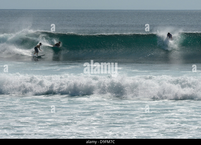 Surfing, Bali, Indonesia, Southeast Asia - Stock Image