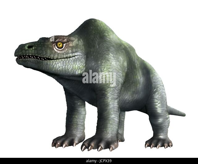 Megalosaurus is genus extinct meat-eating dinosaurs,theropods,from Middle Jurassic period in Earth's history,166 - Stock-Bilder