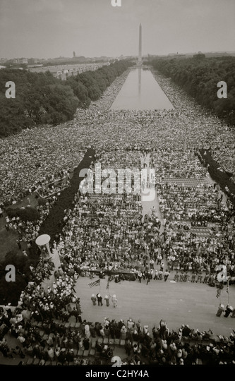 March on Washington at the Mall - Stock-Bilder