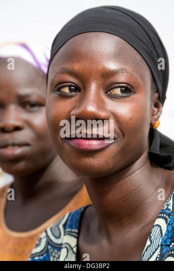 Senegal, Touba. Senegalese Woman. - Stock Image