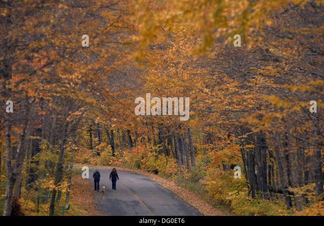 Quebec, Canada, été indien, indian summer - Stock-Bilder