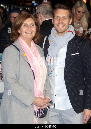 Mar 16, 2017 - attending Another Mother's Son' World Premiere, Odeon Leicester Square in London, England, - Stock Image