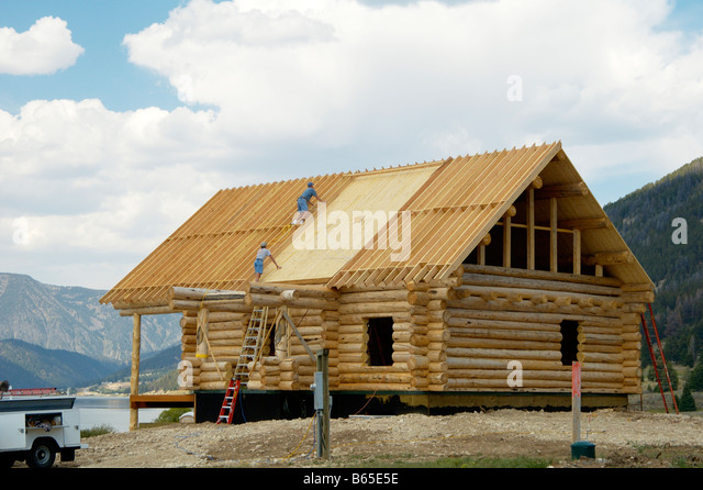 Roofing House Development Stock Photos Roofing House