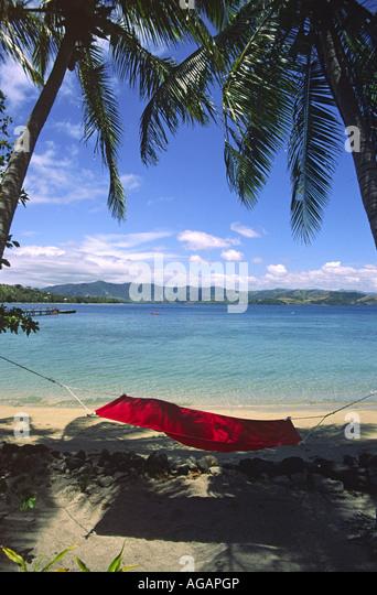 South pacific Fiji Vitu Levu Nananu I Ra Island - Stock Image