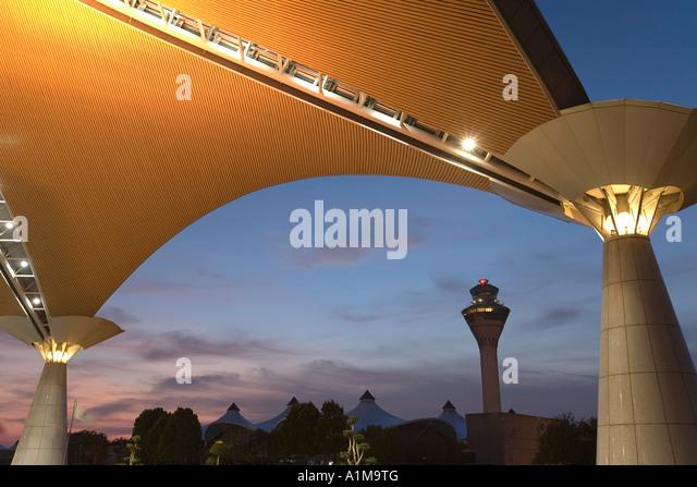 Kuala Lumpur International Airport, Selangor, Kuala Lumpur, Malaysia - Stock Image