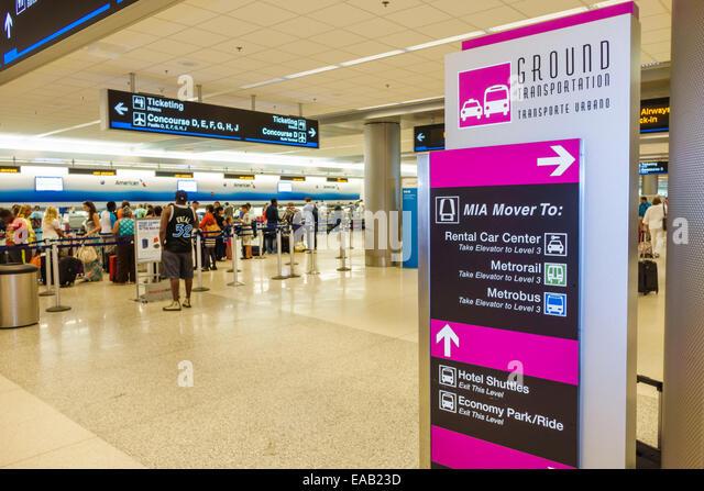 What Car Rental Companies Are At Miami Terminal