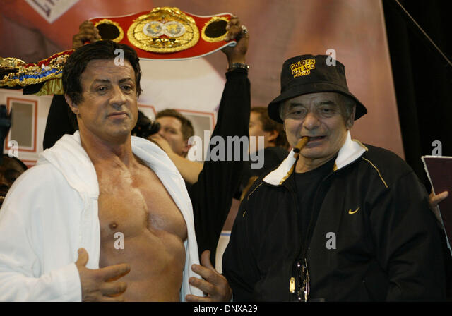 Sylvester Stallone Burt Young Rocky Stock Photos ...