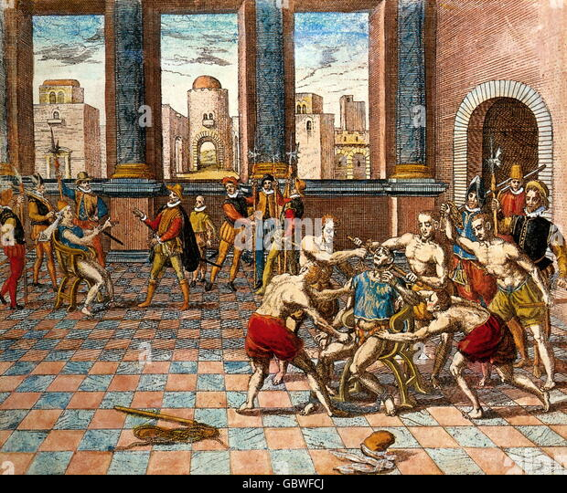 the geographical disadvantage of the aztec empire during the spanish conquest Pizarro and the spanish conquest of the inca empire pizarro was with nunez de balboa during his 1513 expedition even greater than that of the aztec empire of.