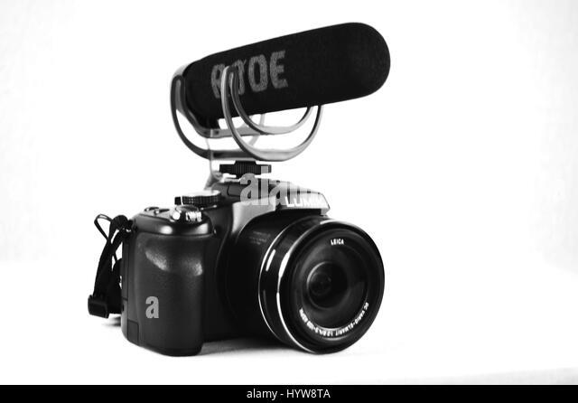 Multimedia shooting - Stock-Bilder