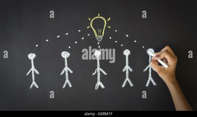 Many Ideas - Stock Image
