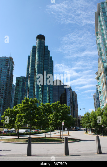 Vancouver skyscrapers - Stock Image