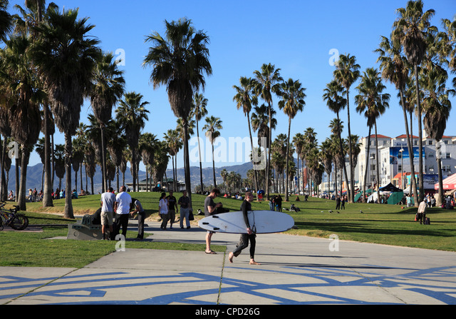 Venice Beach, Los Angeles, California, United States of America, North America - Stock-Bilder