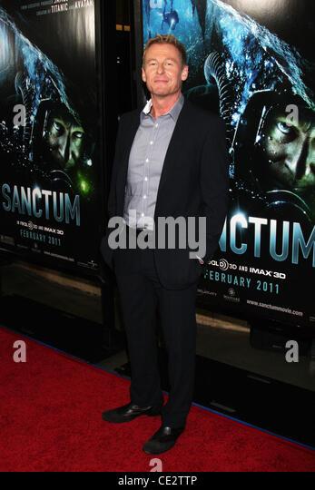 Richard Roxburgh  Los Angeles premiere of 'Sanctum' at Grauman's Chinese Theatre - Arrivals Los Angeles, - Stock Image