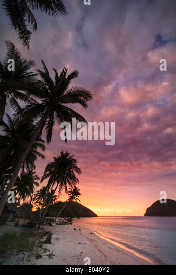 Philippines, Palawan, Culion Island - Stock Image