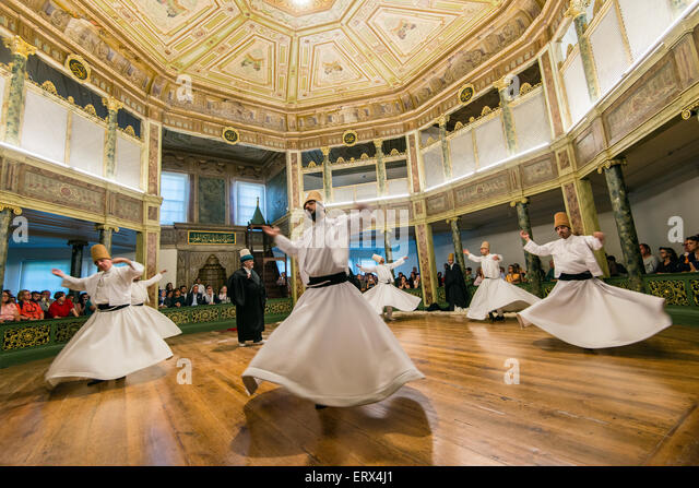 Whirling Dervishes Istanbul Galata Stock Photos & Whirling ...