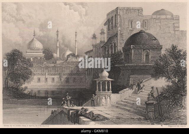 Akbar The Great Palace Jahangir Stock Photos ...