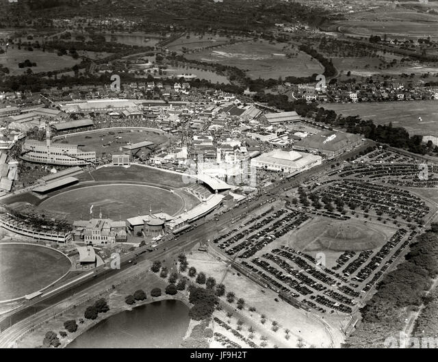 Sydney Showground & Car Park - c1936 30187405351 o - Stock Image