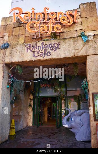 Rainforest Cafe Disneyland Paris Children