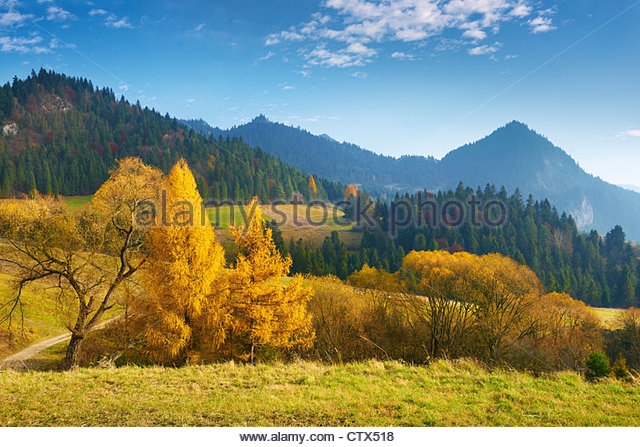 Pieniny National Park, Poland, Europe - Stock Image