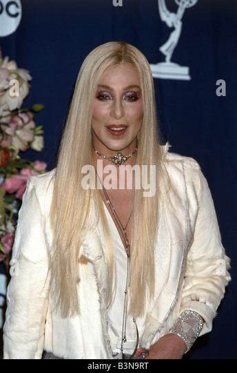 CHER  US singer and film actress at the 52nd Emmy Awards in 2000 - Stock-Bilder