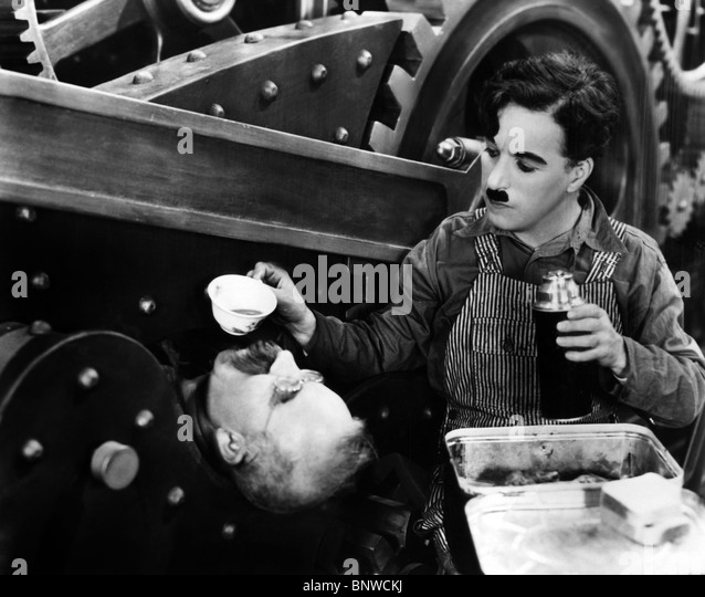 charlie chaplins modern times One of the many remarkable things about charlie chaplin is that his films continue to modern times was charlie's first film after five years of hibernation in.