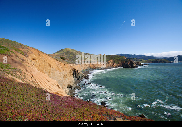 Pacifica, California Ocean - Stock Image