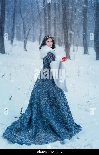 Portrait of Snow White - Stock-Bilder