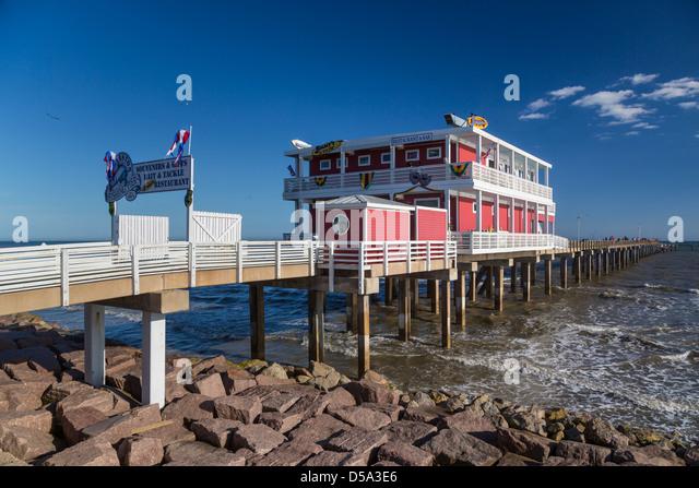Texas mexico stock photos texas mexico stock images alamy for Galveston fishing pier