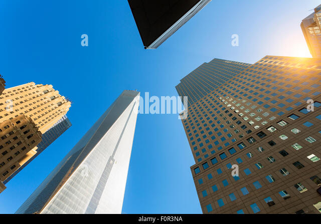 New York City, one World Trade Center - Stock Image