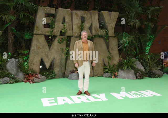 London, UK. 14th January, 2018. Mark Williams, Early Man - World premiere, BFI IMAX, London UK, 14 January 2018, - Stock Image