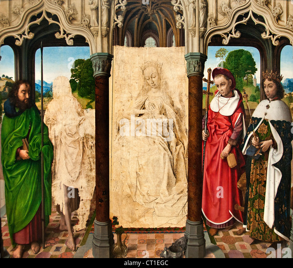 a biography of the 15th century painter hugo van der goes Download this stock image: painting adoration of the magi by hugo van der goes (15th century) in the hermitage museum in st petersburg, russia - j3n69x.