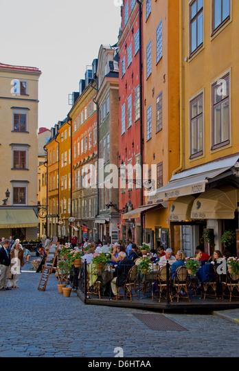 Stortorget, Gamla Stan, Stockholm, Sweden - Stock Image