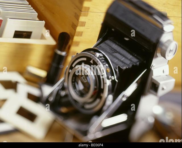 photographic hobby - Stock Image