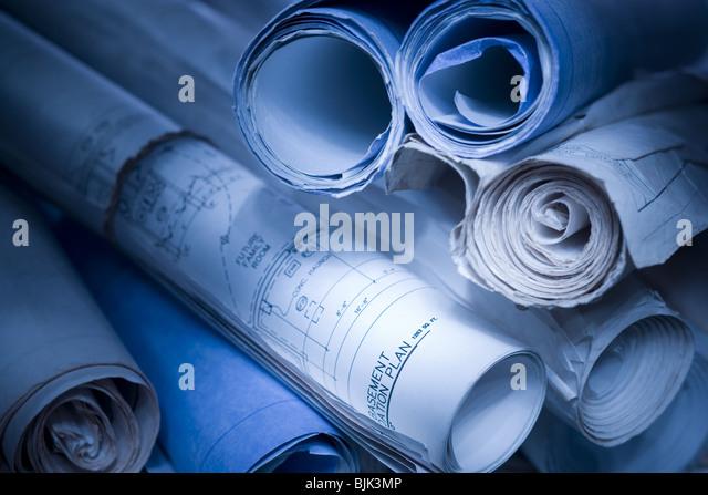 Blueprints - Stock-Bilder