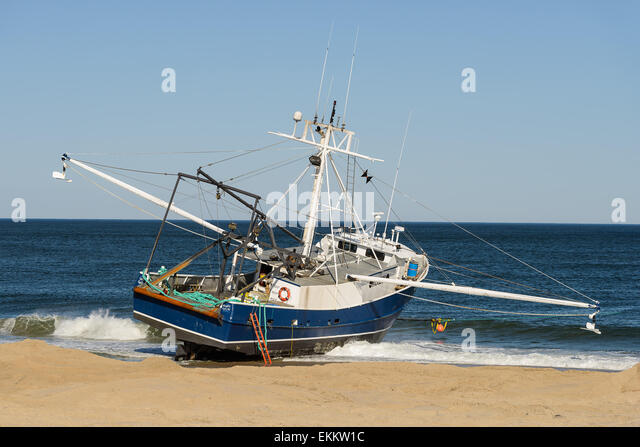 3 stranded stock photos 3 stranded stock images alamy for Fishing boats point pleasant nj